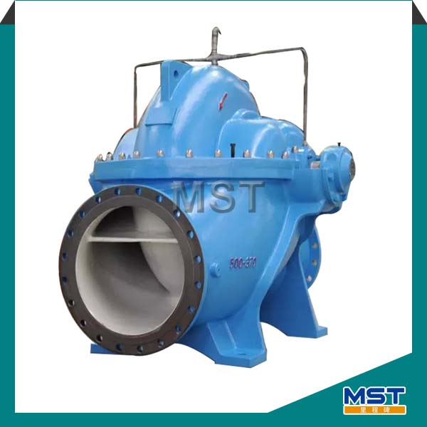 Low head high discharge pump