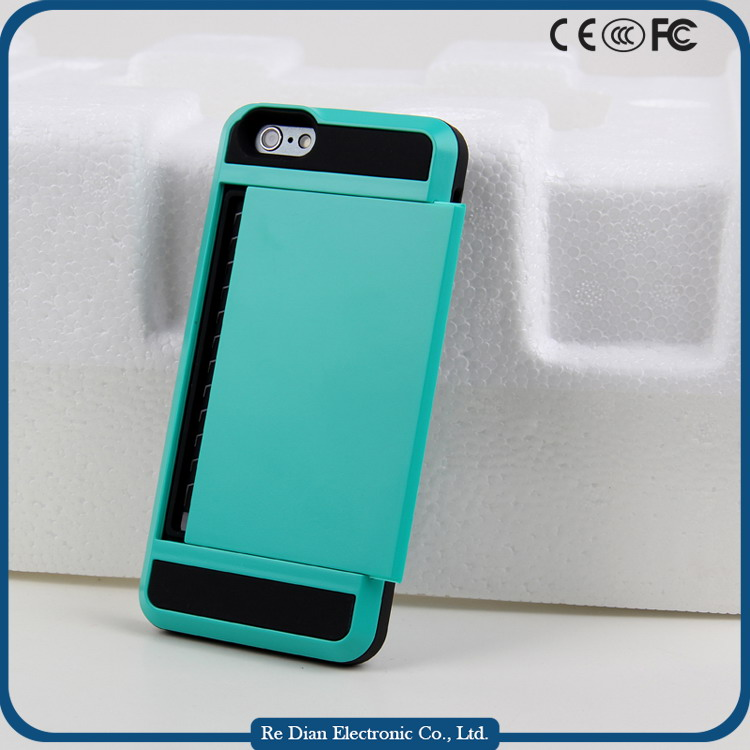 Deluxe two-layer tpu pc cases mobile housing for iphone 6plus