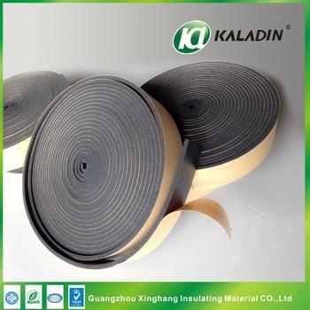 Hvac Duct Self Adhesive Rubber Foam Heat Insulation Tape