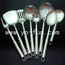 JJJ500 European style 18/8 stainless steel 7pcs set kitchen tools