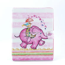Hot selling animal pattern leather case for iPad 2/3/4