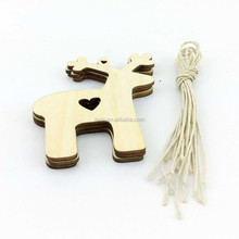 2016Teda Free Shipment Wooden MDF Shapes Hearts Stars Butterfly Bunting Craft Embellishments Decoration