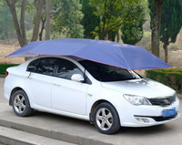 High Quality Keep Car Cool Outdoor Automatic Car Tent Roof Umbrella Shade/Car