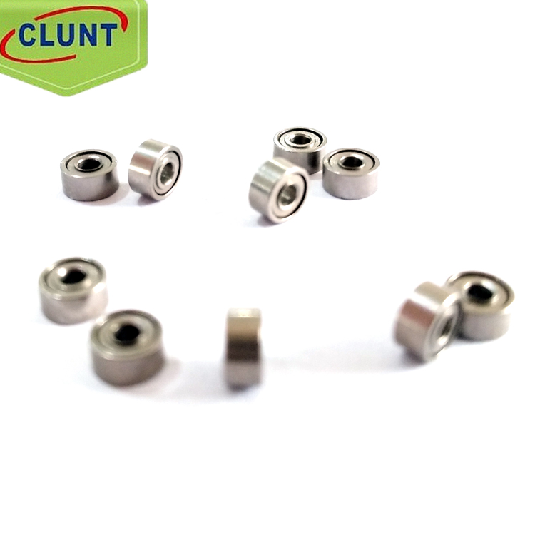 low noise 605-ZZ miniature bearing 5*14*5mm size finger skateboard bearing high speed