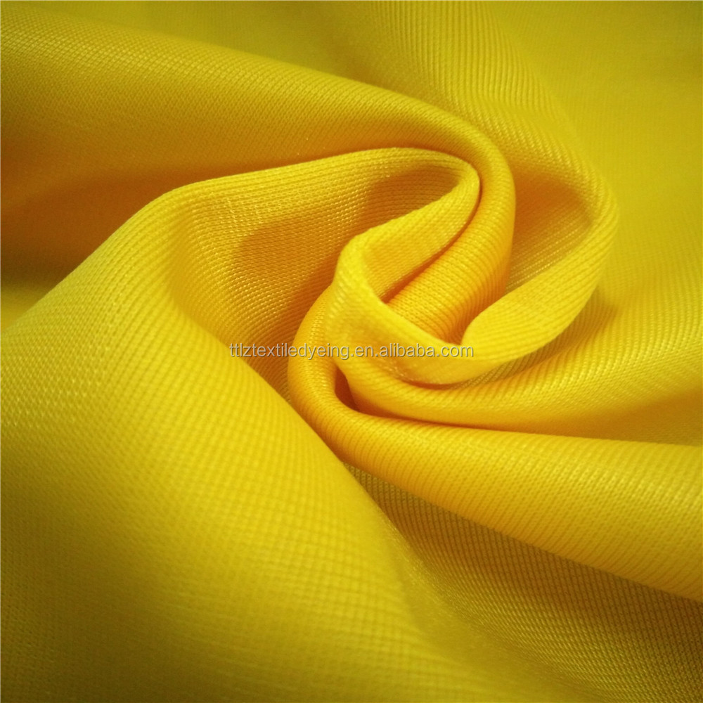 100%polyester huzhou changxing manufacturer track suits and school uniform fabric super tricot poly fabric