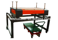 2016 Portable CNC CO2 Fabric granite stone acrylic marble block wood glass crafts laser engraving cutting machine