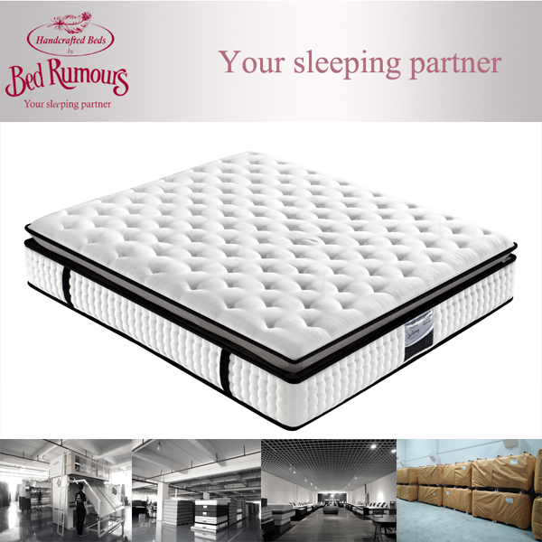 Chinese King Coil 5-Zone Pocket Spring Thick Memory Foam Mattress