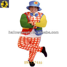 Funny Clown Costume for Carnival Party