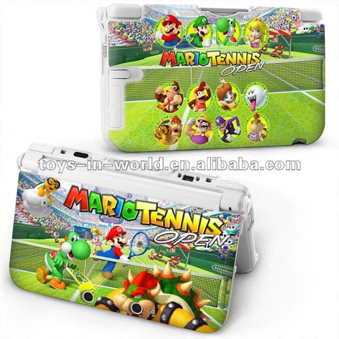 for 3ds xl mario tennis design case