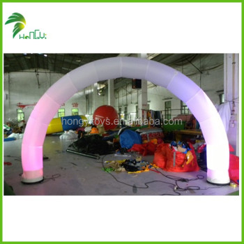 LED Lighting Inflatable Arch For Sale Advertising, Inflatable Finish Line Archways Race Arch