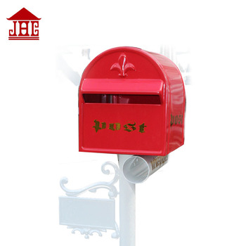 JHC-1022 cast aluminum mailbox and post/ letterbox free standing/ christmas postbox
