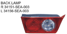 OEM 34151-SEA-003 34156-SEA-003 FOR HONDA ACCORD 03-05 EUROPEAN TYPE Auto Car back lamp back light