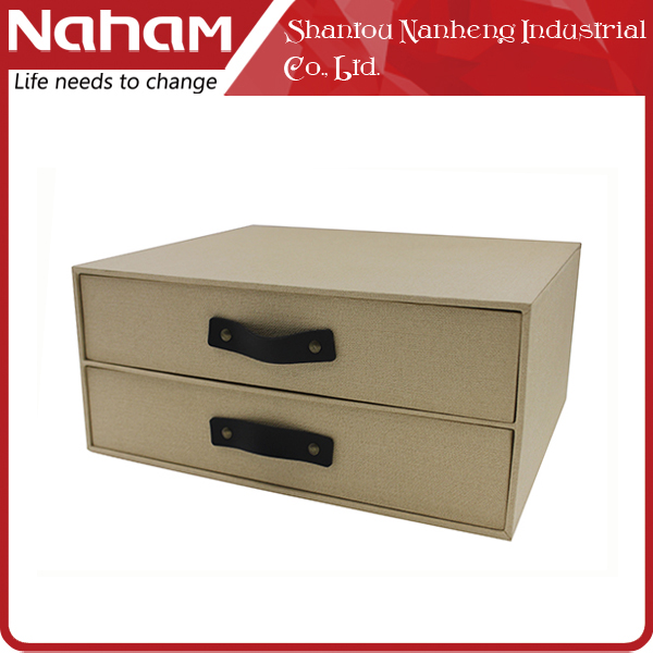 NAHAM BSCI custom new tabletop storage box drawer cabinet