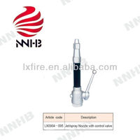 Fire fighting nozzle Jet/spray Nozzle with control valve