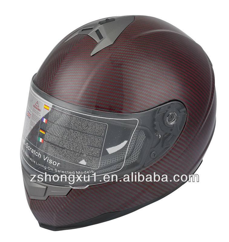 Motorcycle Motocross Fashional Carbon Fiber superman Motorcycle Helmet X305