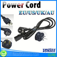 2 pin european standard ac power cord,3 pin American AU standard power Extension Cords High Quality Video Balun Passivo