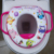 2017 hot sell Europea PVC printing soft toilet seat cover,toilet seat