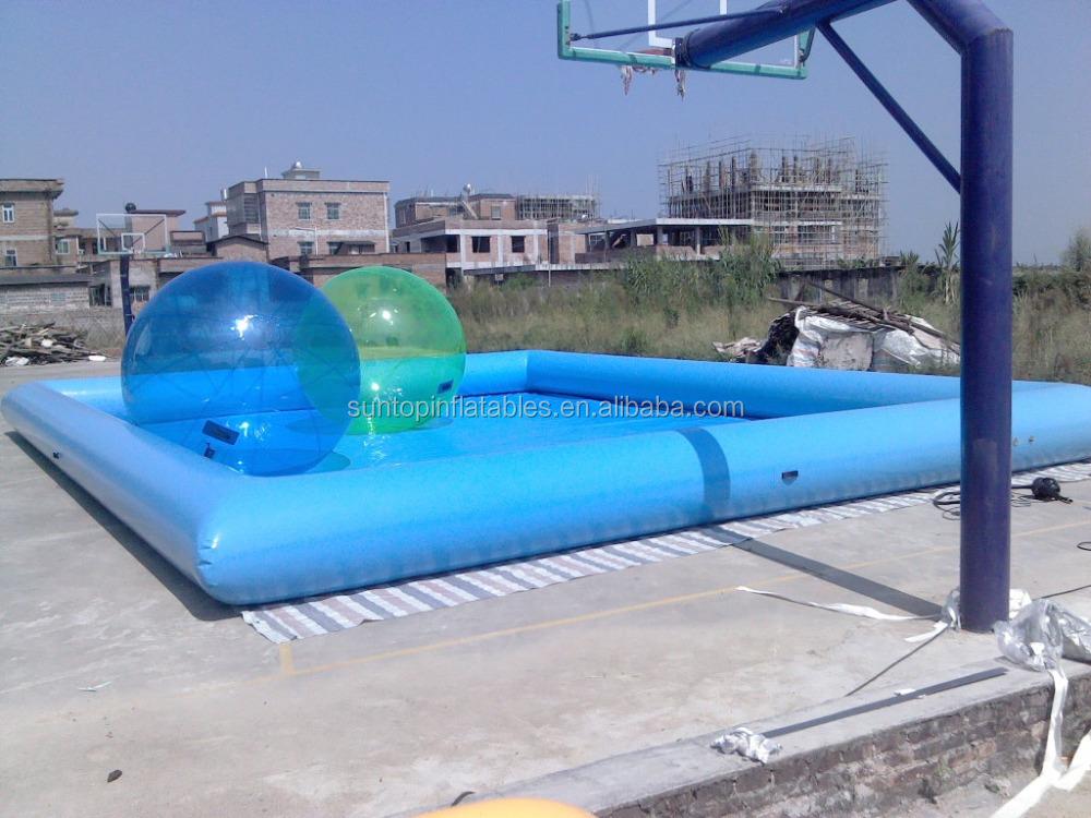 Rectangular grande piscina inflable para infantil y for Piscina inflable rectangular