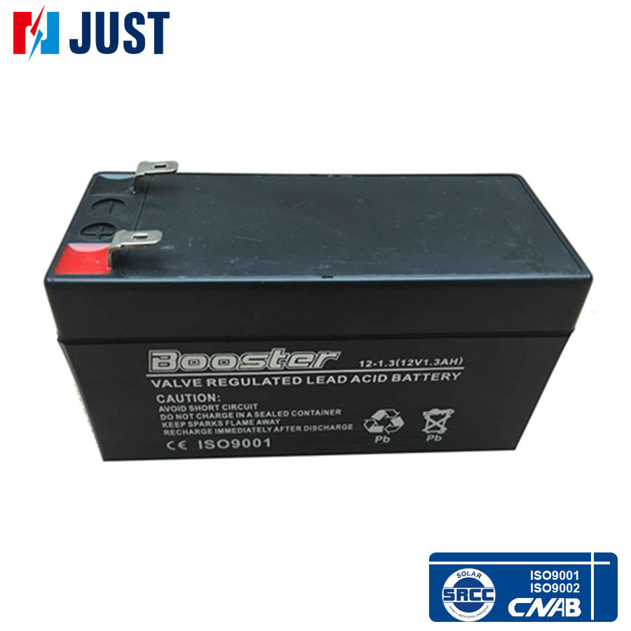 12V 1.3Ah sealed lead acid deep cycle solar battery with cheap price