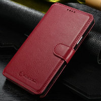 2015 Whoesale leather phone case For Samsung Note 4 Leather Wallet Mobile Phone Case