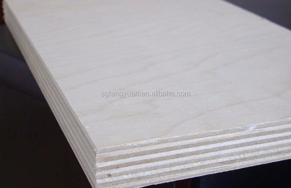 furniture ,construction, decoration used 18mm birch plywood on sale from china direct factory