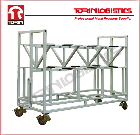 Warehouse racking system for storing auto parts