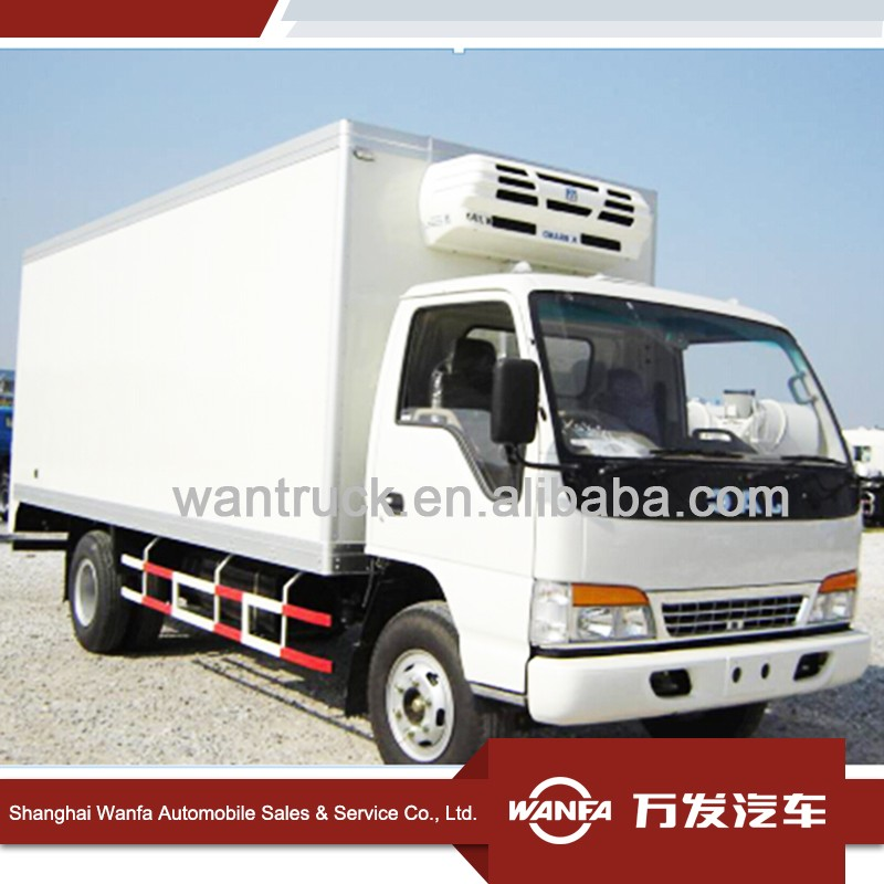 JAC cargo dry van box truck body/ cargo van truck/ckd refrigerated truck bodystainless steel or carbon steel parts