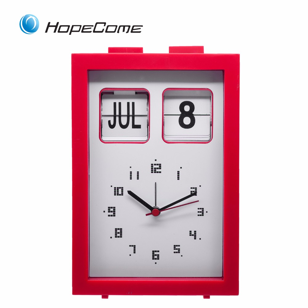 Hopecome Wall Clock with Day