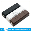 2016 specail material chocolate shape powerbank 2200mah moblie phone battery charger for travel