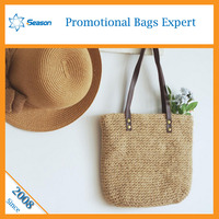 Wholesale jute tote bag jute shopping bag importer of jute bag