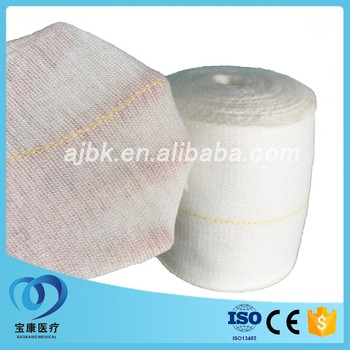 Good elasticity Tubular bandage with polyester and cotton