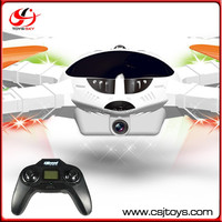 New 2.4G 4CH 6-axis gyro radio control quad helicopter camera with three speeds.
