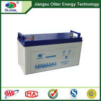 Best quality!AGM deep cycle rechargeable solar gel battery 12V 100AH