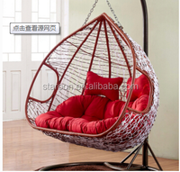 China Wholesale egg chair 100% polyester printed outdoor cushion