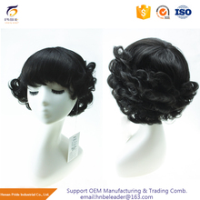 New Style Short Straight And Wavy With Adjust Strap Full Lace Human Hair Wig