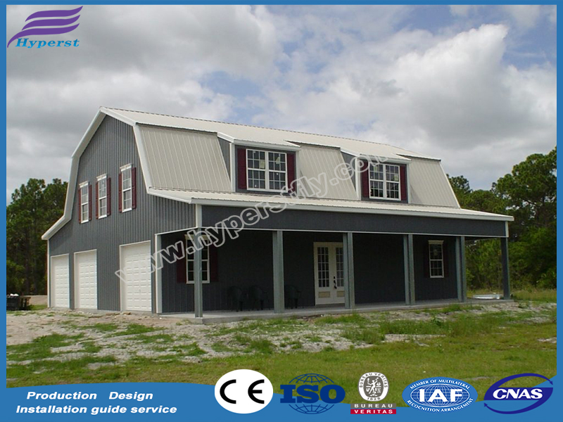 steel metal structure workshop/prefab house