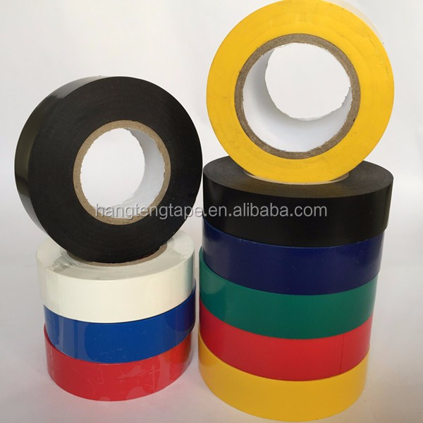 High voltage 19mmx10m White pvc electrical tape for insulation