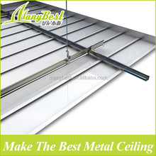 2017 Low-cost Suspended Aluminum c-shaped fall ceiling