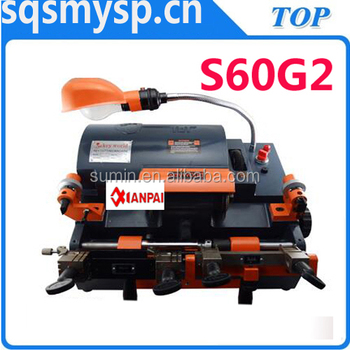 Best quality S60G2 Key copy making machine Manufacture For locksmith Xianpai