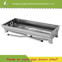 China supplier stainless steel barbecue grills machine