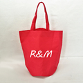 Round bottom big size polyester eco shopping tote bag