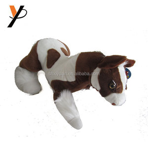 make your own soft vinyl animal toy happy horse plush toy