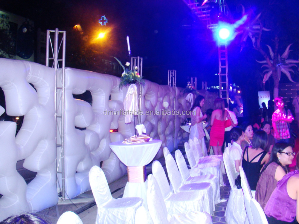 2015 inflatable wall/inflatable walls.wedding wall decorations