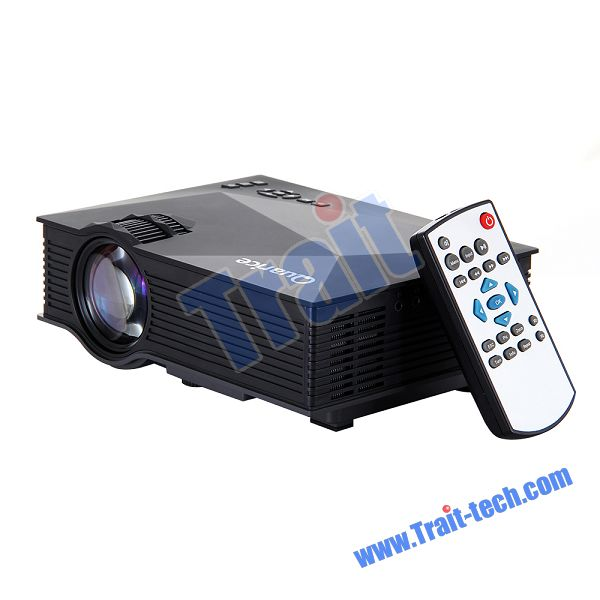 "Quarice UC46 Wifi 130"" Home Cinema Theater Multimedia Portable LCD LED Mini Projector 1200 Lumens for Tablet PC Mobile Phone"