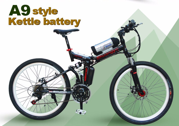 2016 cheap folding electric mountain bicycle
