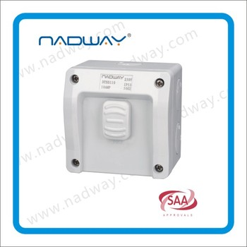 250V ip 53 rated outdoors switches