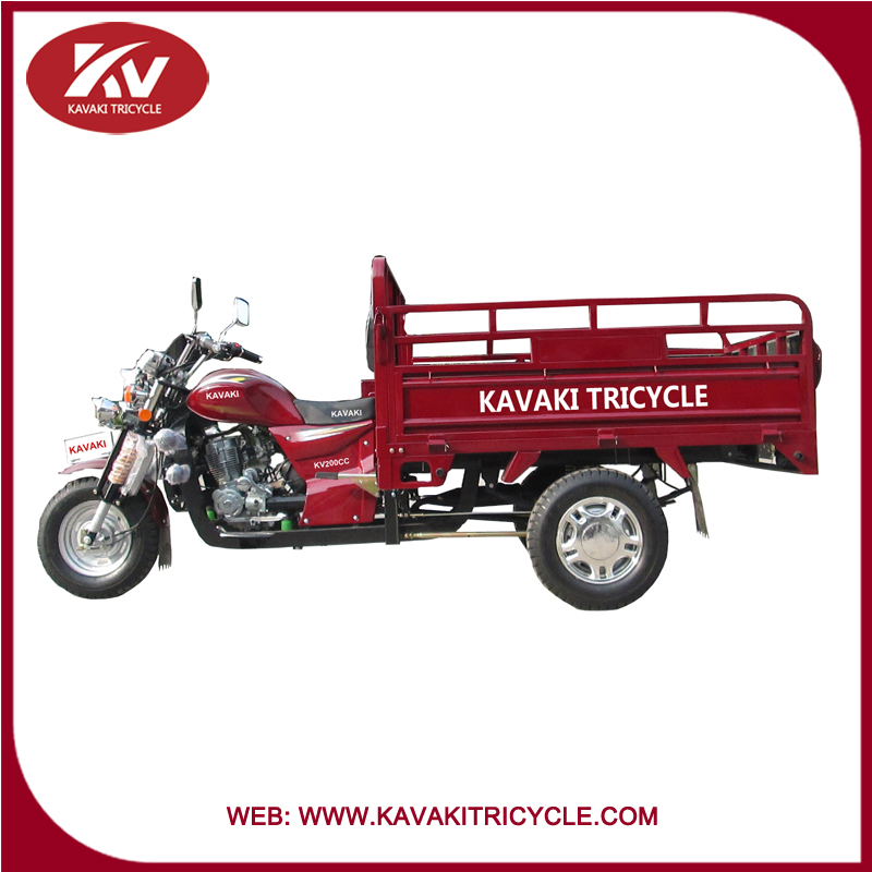 2015 Chinese KAVAKI brand 150cc/200cc agricultural three wheel cargo tricycle hot sale in KAVAKI guangzhou factory