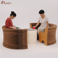 for Sale Easy-fold Craft Paper foldable furniture