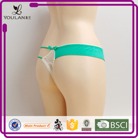 2015 Latest Elegant Teen High Cut Sexy G-Strings For Women Girls