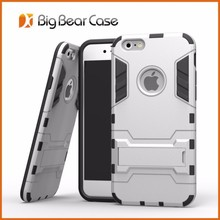 Shockproof combo for iphone 6 plus case with stand
